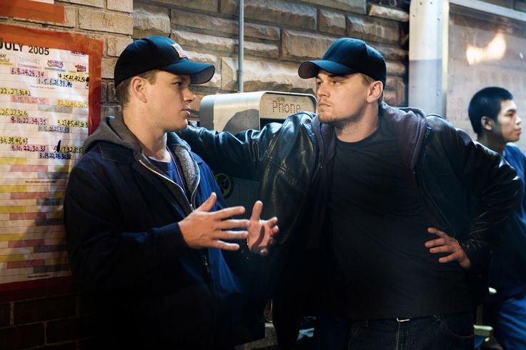 """The Departed"" movie still, 2006. L to R: Matt Damon, Leonardo DiCaprio."