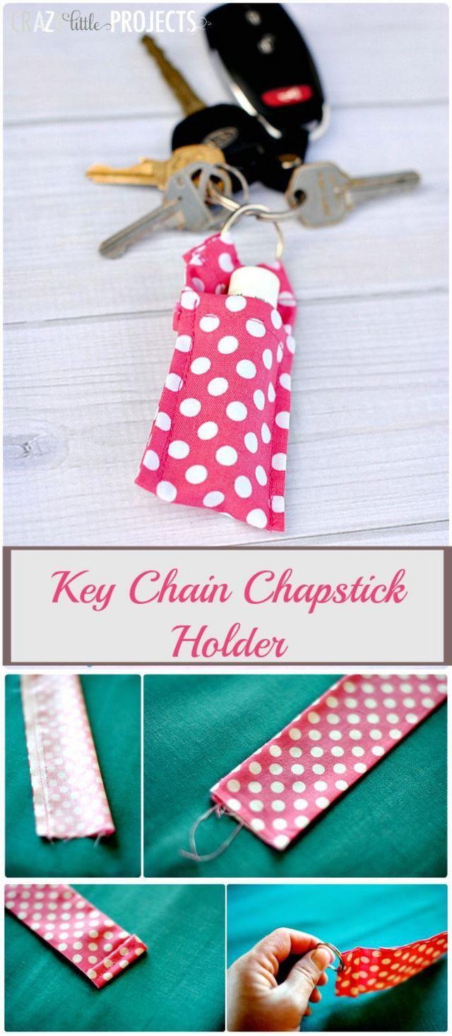 Keychain Chapstick Holder Do It And How Bloglovin Creative
