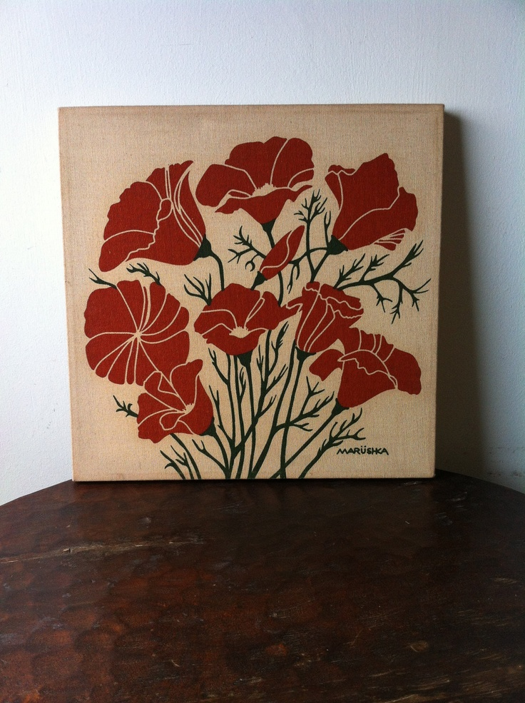 Vintage Marushka Silkscreen Prints