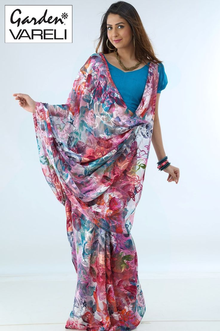 The Biggest and the most unique  Online Shopping for #Sarees  #Fabric/Texture : BrassoSPECTRA SR P At The Best Branded on Gardenvareli.com with Smart Price at Rs. 1,742/-