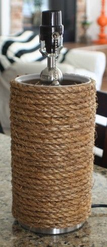 "Make a ""Lamp Wrap"" {using an oatmeal container}"