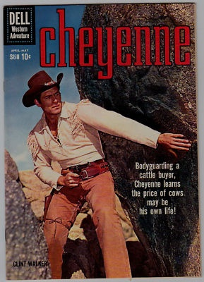 Dell book from Cheyenne TV Show with Clint Walker