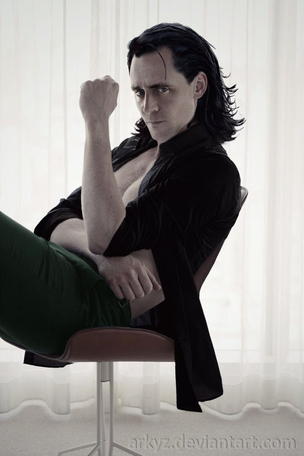 Tom Hiddleston / Loki manip by Arkyz http://arkyz.deviantart.com/art/Tom-Hiddleston-Loki-manip-619139098