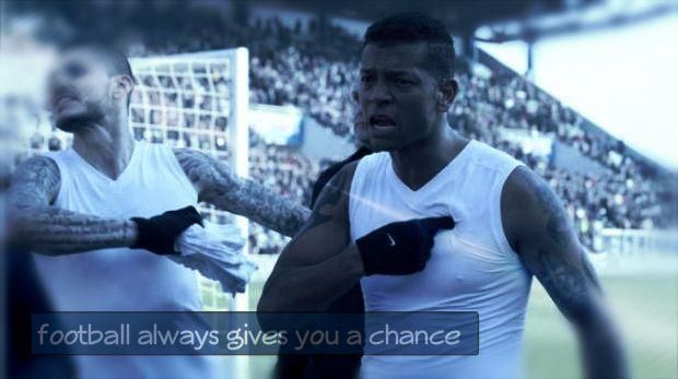 football always gives you a chance by; Nerazzurri_1908