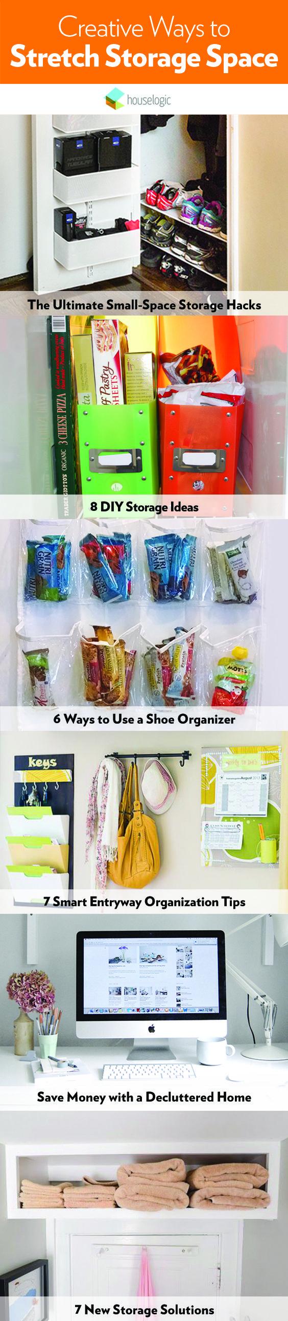Creative Ways To Stretch Your Storage Space
