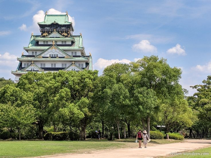 Das Osaka Castle in Osaka gehört zu den beliebtes…