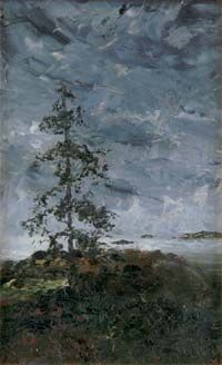 the Lonely one august strindberg 1892