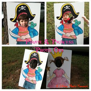 A Disney Mom's Thoughts: Pirate and Princess Birthday Party