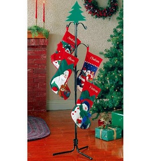 Hanging Stockings Without A Mantel Christmas Pinterest