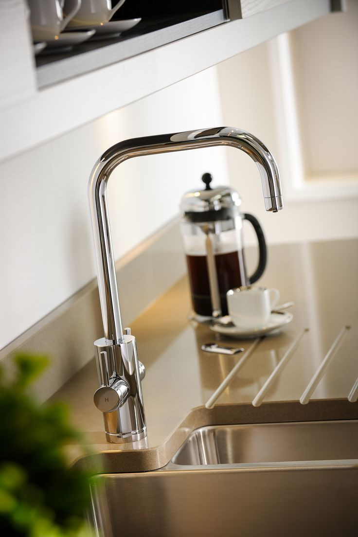 Possibly The Perfect Kitchen Tap: Project Monobloc Mixertap From Abodeu0027s  New Pronteau 4 In 1 Hot Tap Range. Hot And Cold Soft Water For Washing And  Rinsing ...