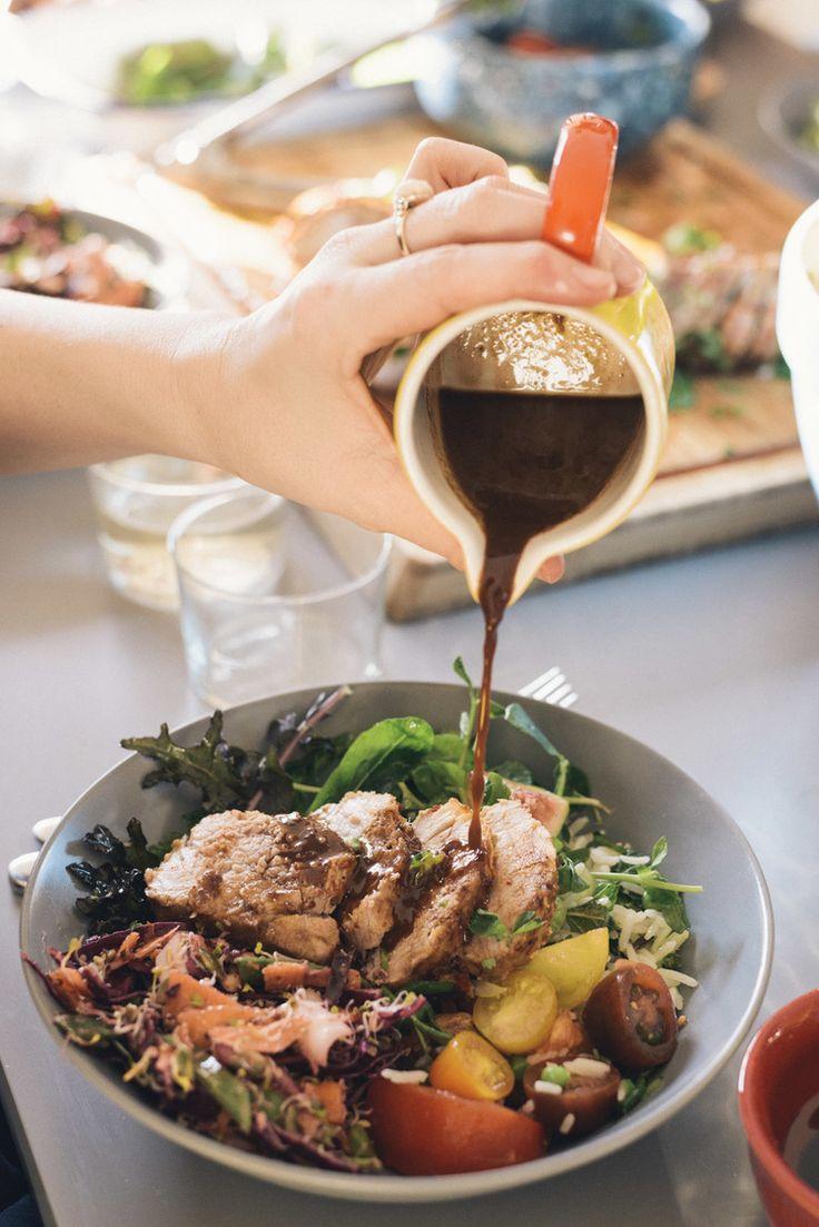 Spicy Pork Tenderloin with Wild Rice Salad | sheerluxe.com