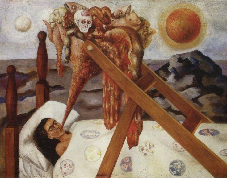 Risultati immagini per immagini quadri frida kahlo