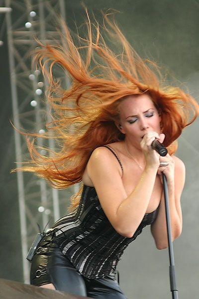 Simone Simons (from the band Epica)