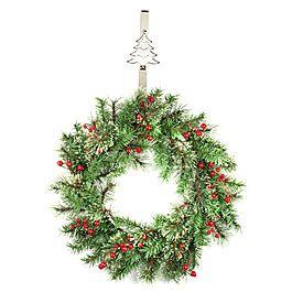 view mosaic wreath hangers deals at big lots biglots - Big Lots Christmas Trees