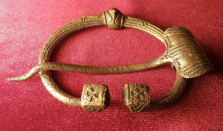 Viking age / Viking mens brooch still