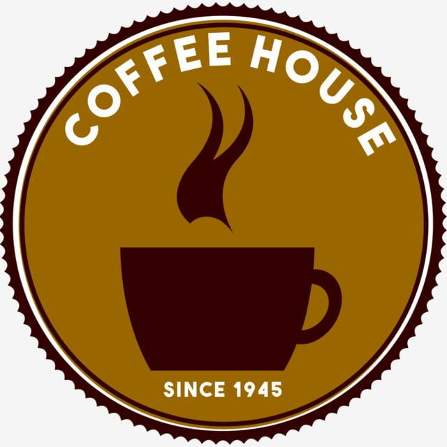 Coffee House Logo Coffee Logo Brown Png Transparent Clipart Image And Psd File For Free Download Coffee Shop Logo Design Logo Design Coffee Coffee Logo
