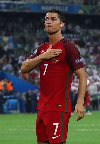 Poland vs Portugal UEFA 2016: Cristiano Ronaldo