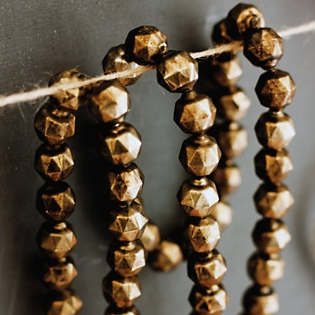 Gold Bauble Garland
