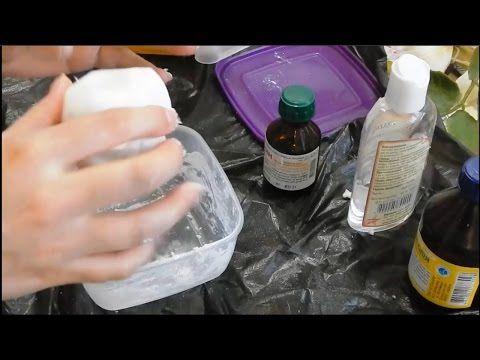 обойный клей и пластификатор Холодный фарфор без варки из доступных ингредиентов  Cold porcelain without cooking from the availab - YouTube
