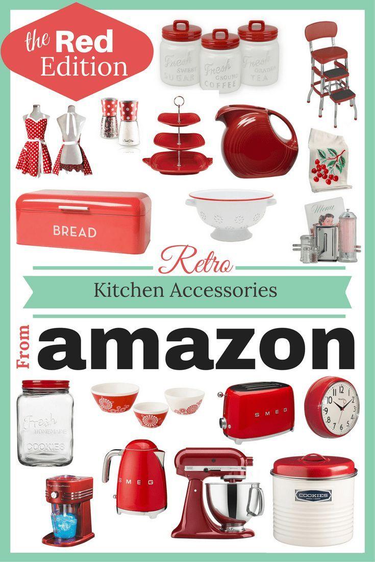 Retro Kitchen Best 25 Retro Kitchen Accessories Ideas On Pinterest Vintage