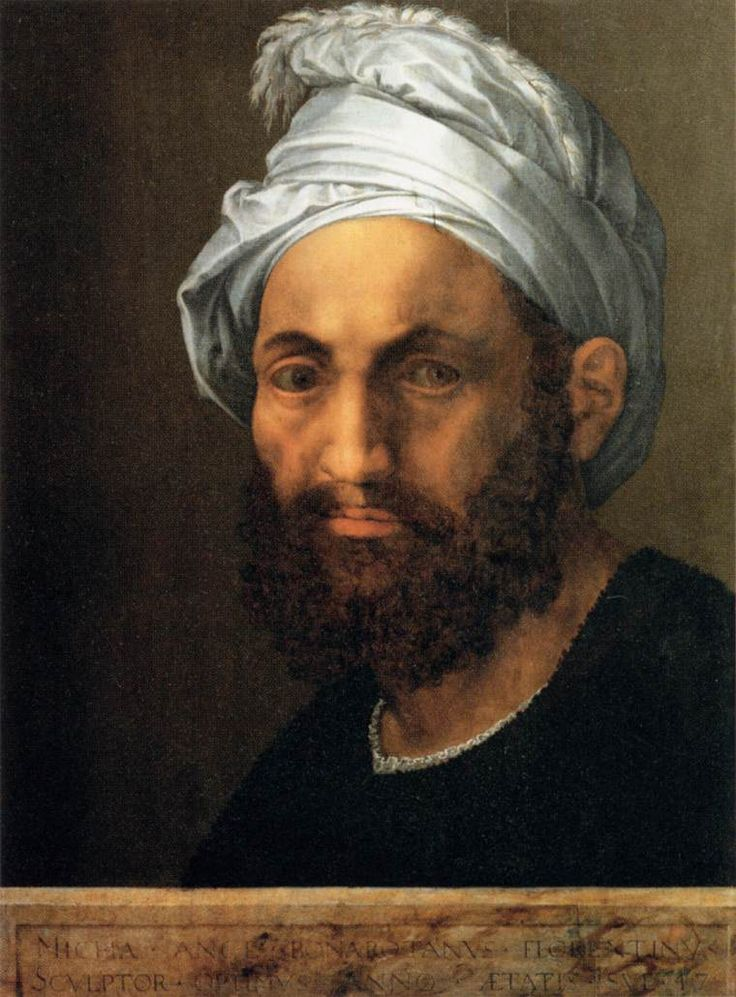 Portrait of Michelangelo, 1522 -  Baccio Bandinelli (1493–1560)                                                                                                                                                                                 More