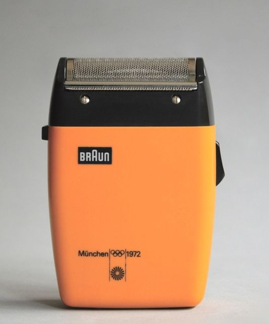 Fancy - Braun Electric Shaver - designed by Dieter Rams