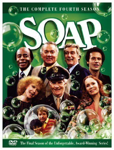 The soap-operish antics of two families: the Campbells and the Tates.  Stars: Rod Roddy, Katherine Helmond, Richard Mulligan, Billy Crystal, etc.  OK, so not a film but a tv series. The original and best 'soap' ever, wish they showed it again on tv