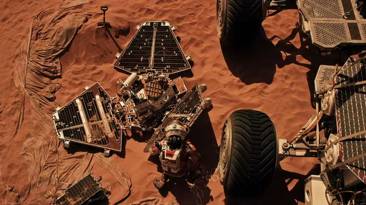 'The Martian' is a Cinematic Triumph – Follow Mark Watney's Trail across the Real Mars in Photos and Flyover Video - http://www.universetoday.com/122798/the-martian-is-a-cinematic-triumph-follow-mark-watneys-trail-across-the-real-mars-in-photos-and-flyover-video/