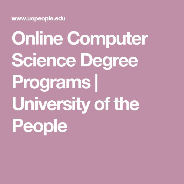 Online Computer Science Degree Programs | University of the People
