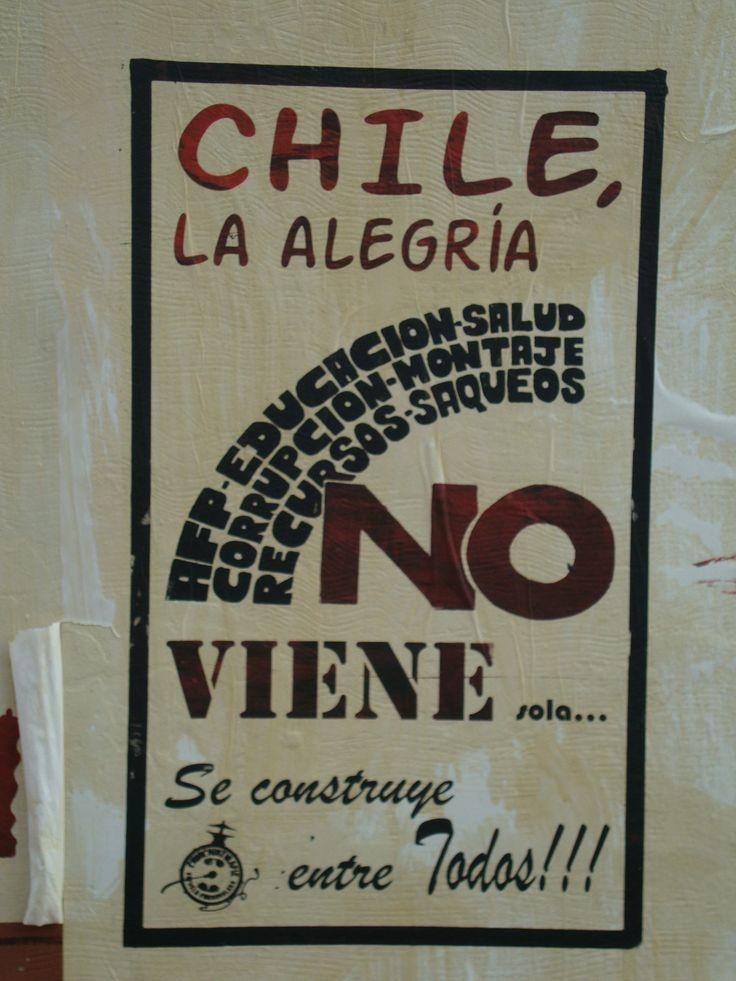 Chile, la alegría no viene. Santiago de Chile, Romería al Cementerio General, 8 de sept. de 2013. A 40 años del golpe.