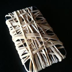 A list of fairly harmless pranks, such as... Rubber Bands Around a Phone Prank