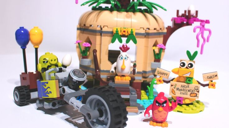 LEGO Toys for Kids   Angry Birds 🐔Bird Island Egg Heist - stop motion build video: https://youtu.be/o2ysPmR4-is