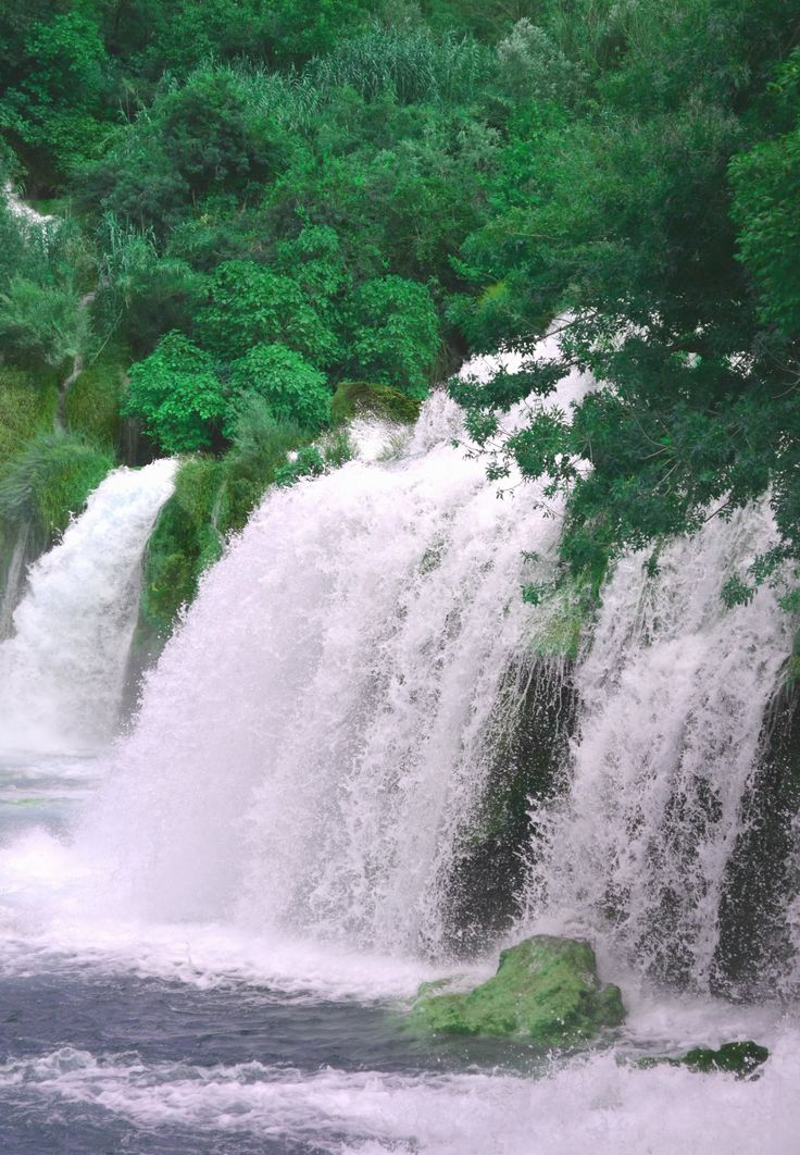 Awesome falls in The National Park Krka, Hr   Alexa Otet