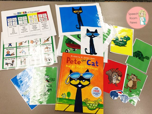 Pete The Cat Sunglasses Reflection