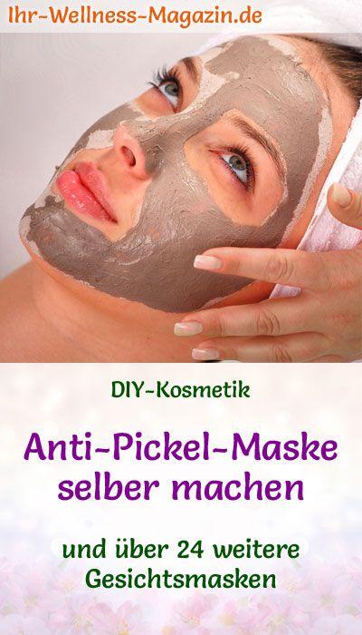 Anti-Pickel-Maske selber machen – Rezept und Anleitung