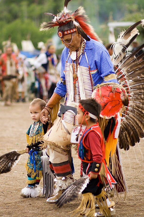 Montana Indian-Pow-Wow...if you've never had the honor of attending one of the many Pow-Wow's around the country you are missing out on something spiritual.