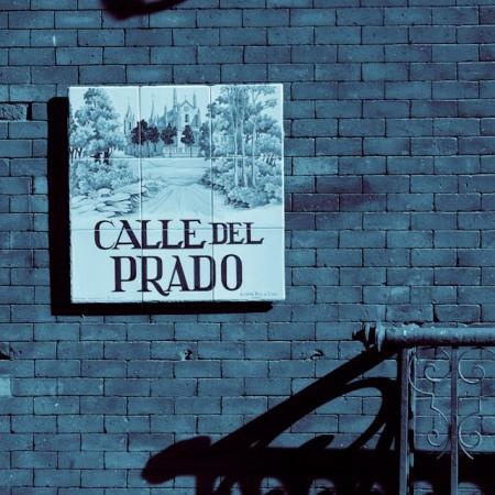 Calle del Prado. Madrid, Spain One of the bestest cities in the world!!!