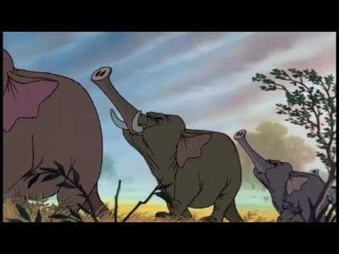 Jungle Boek | Liedje: Kolonel Hatie's Mars | Disney BE - YouTube