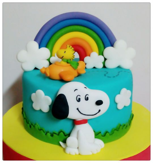 Mini torta de Snoopy