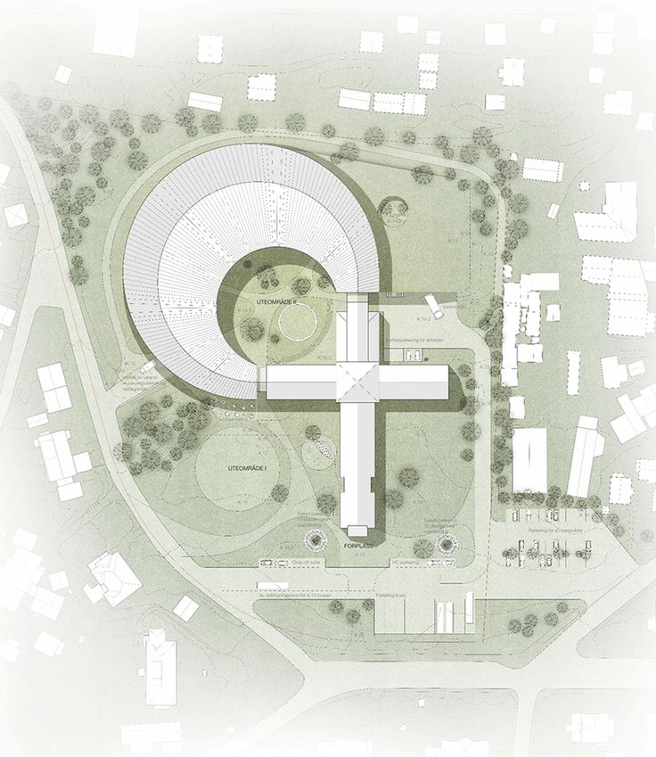 Site plan Viking Age Museum in Oslo Norway by AART cultural architecture news