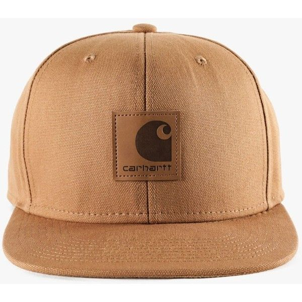 Logo Starter Cap ($45) via Polyvore featuring accessories, hats, embroidered hats, carhartt hat, carhartt cap, snap hat and caps hats