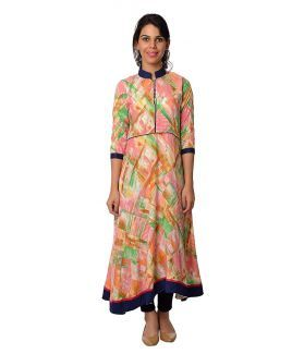 Women's #anarkali at 699. High quality rayon fabric and latest #fashion trend.  http://bit.ly/2q5lAr6