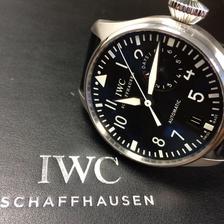 Another great IWC Big Pilots watch. http://www.globalwatchshop.co.uk/iwc-big-pilots-watch-iw500901.html?utm_content=bufferafbc0&utm_medium=social&utm_source=pinterest.com&utm_campaign=buffer In stock - DM for details ✈