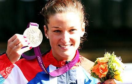 Vegetarian Cyclist Lizzie Armitstead Wins Olympic Medal! | Made Just Right by Earth Balance vegan plantbased