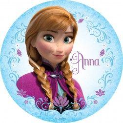 Frozen Anna Round