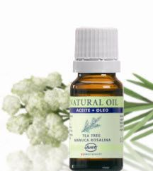Tea Tree Essential Oil  • Provides first aid as a disinfectant, antiinflammatory,    analgesic,& wound healing. • Used extensively in a variety of skin related     problems. • Effective and delicate at the same time. • comes in an oil or cream!