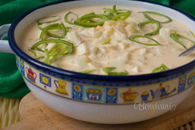 Vajíčkový šalát • recept • bonvivani.sk