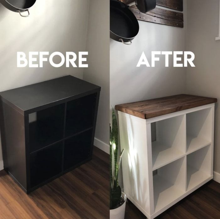 17 Genius Ways That People Hacked Their Ikea Furniture In 2020 Ikea Furniture Hacks Diy Furniture Projects Furniture Hacks