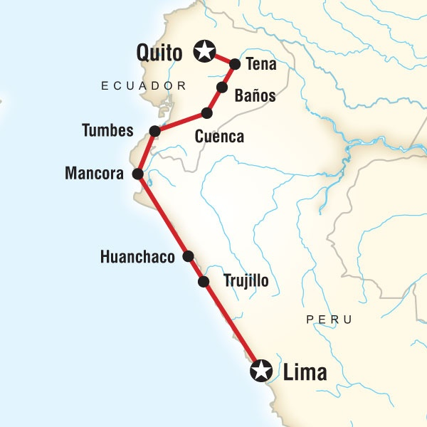 francisco pizarro route from spain to peru