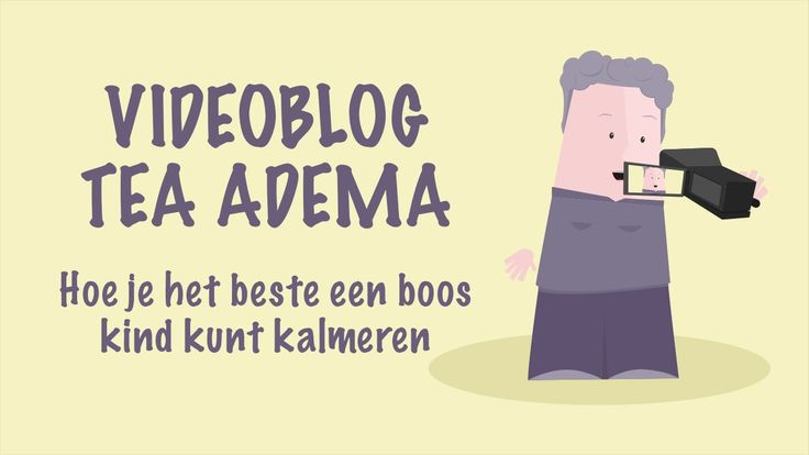 Vlog Tea Adema - Drie bewegingen voor boos, bang en verdrietig